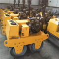 mini double steel drum self-propelled vibratory road roller