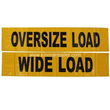 wide load banners