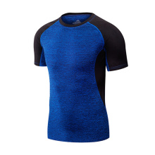 Fitness Gym Clothing Dry Fit camisa para hombres