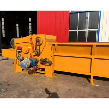 Safety and reliability design of the wood chipper