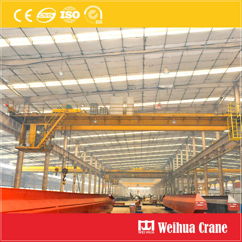 Overhead Crane With Trolley Hoists