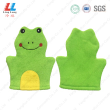 Foam animal shower children bath gloves