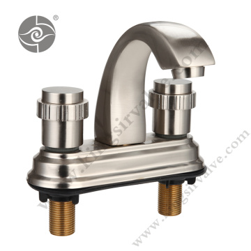 Nickel plated wire-drawing faucets