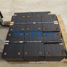 3+3 Bimetallic  Abrasion Resistant steel alloy Plate for Mechanical Shovel