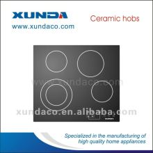 4 Heating Zone Electric Ceramic Cooktop