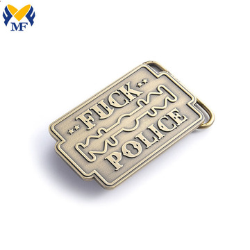 Custom Zinc Alloy Buckle With Your Logo