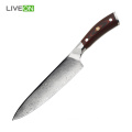 G10 Handle Material 8 inch Damascus Chef Knife