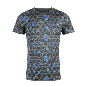 Moisture Wicking Dry Fit T Shirt Star Blue