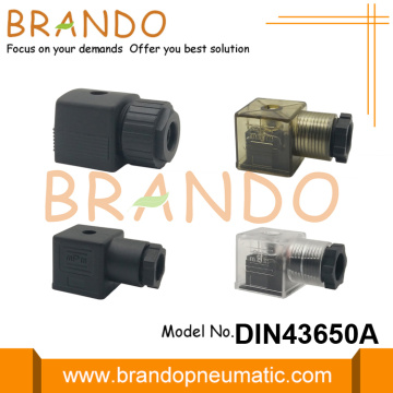 18mm DIN 43650 Form A Solenoid Valve Connector