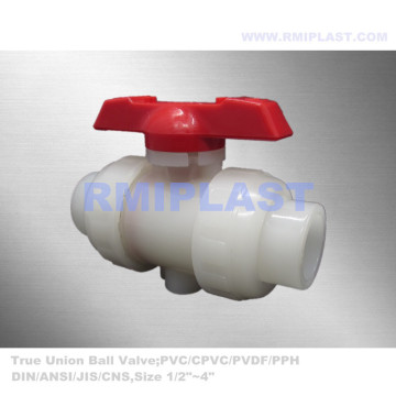 PVDF Socket Ball Valve DN15 to DN100