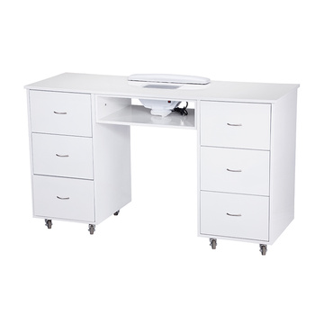 Nail Technician Table Modern White