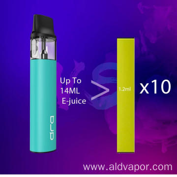 800 Puff E Shisha Refillable Empty Cartridge E Vaporizer