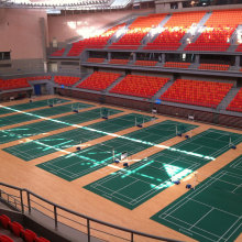 Badminton court sports PVC flooring