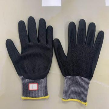 Touch Skin Function Foaming Finished HDPE Gloves
