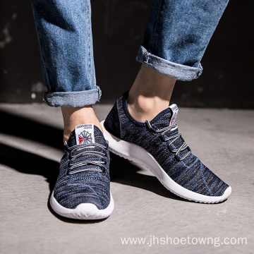 summer men's breathable sneakers running shoes