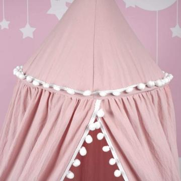 Dome Children Mosquito Net Cotton Bed Canopies