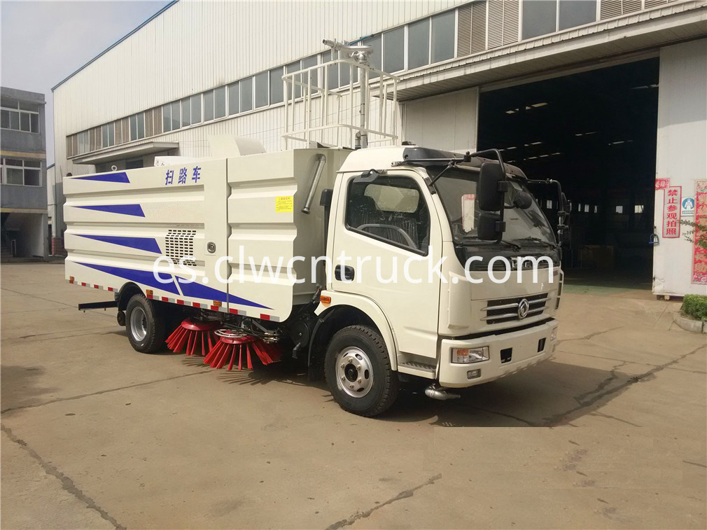 commercial sweeper truck 1