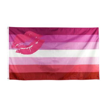 Polyester Flag Gay Pride Banner Rainbow Flags
