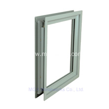 Power Room Door Square Vision Lite Frame