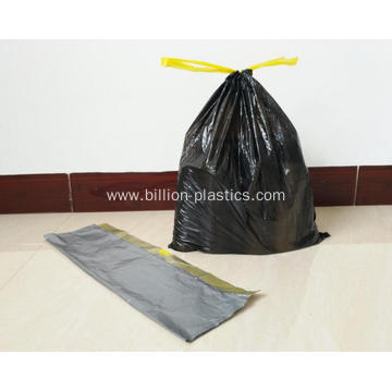 Drawstring Poly Garbage Bag Drawstring