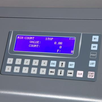 High Speed Coin Sorter for Czech Coins