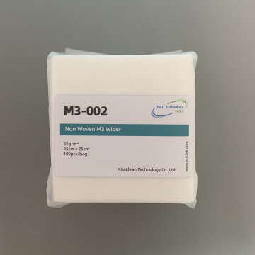 Dust-free M3 Soft Non-woven Wipes