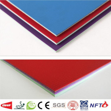 Removable table tennis floor PVC sports flooring