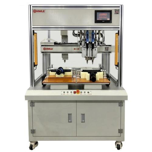 Desktop Screw Blowing Feeding Auto Locking Machine