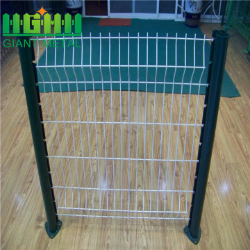 Garden Curved PVC Coated Welded 3D Mesh Fence