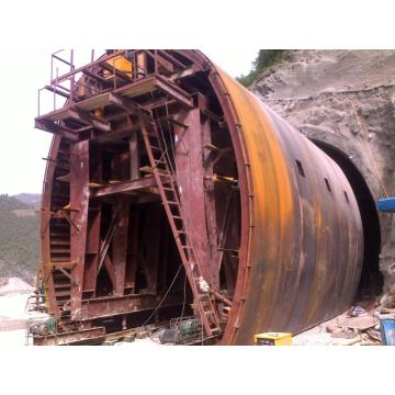 Hydraulic Railway Formwork Tunnel Lining Trolley