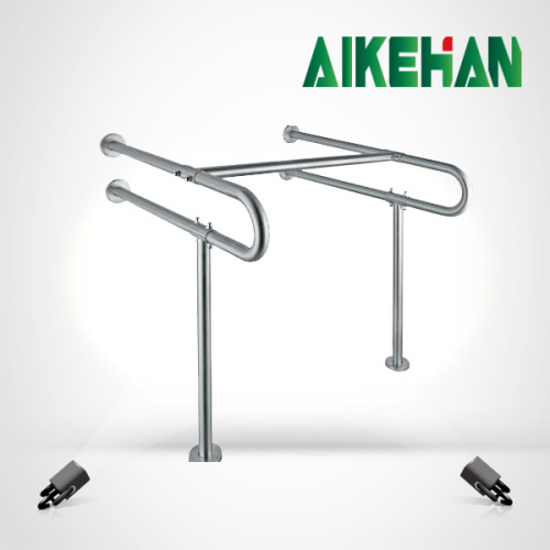 Stainless steel toilet disabled handrail for elderly