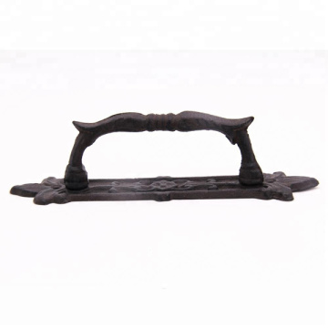 Antique Solid Cast Iron Rustic Pull Handle