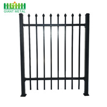 made in china steel fence for village