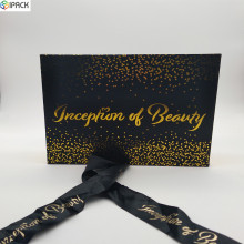 Custom Decorative Packaging Cardboard Gift Box with Ribbon