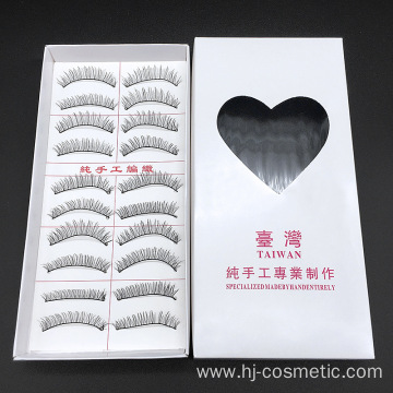 3 different styles Korean PBT fiber Korean silk false eyelashes 10pairs/box