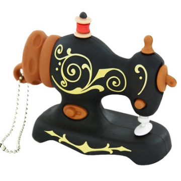 Sewing Machine Shaped USB Flash Drive