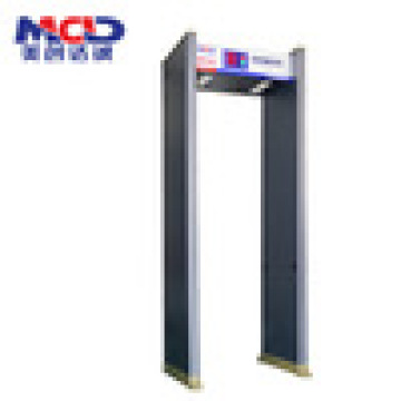 6 zone walkthrough metal detector