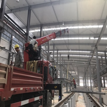 storage steel structure building platform fabrication