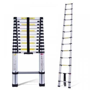 best quality aluminum telescopic ladder 3.8m