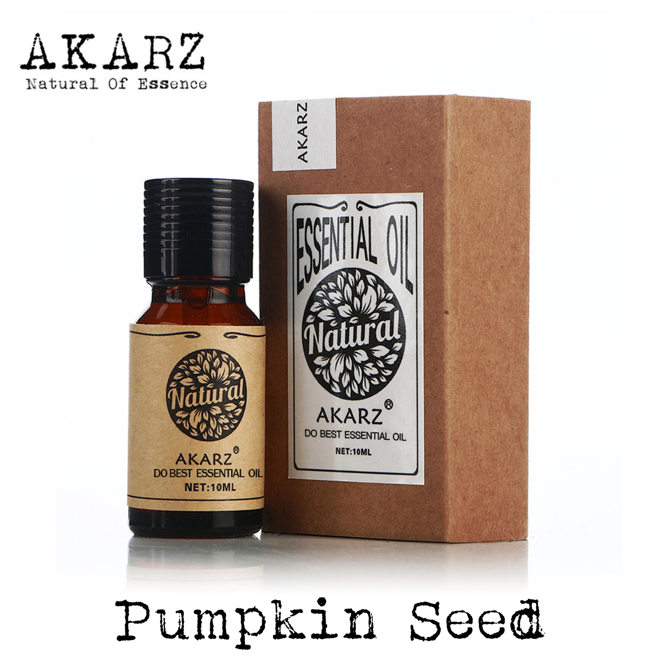 Pumpkin seed oil AKARZ Top Brand body face skin care spa message fragrance lamp Aromatherapy Pumpkin seed Carrier oil