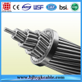 Hot Dip Galvanized Steel ACSR Overhead Conductor Power Cable