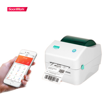 Bluetooth Direct Thermal 4x6 Shipping Label Printer