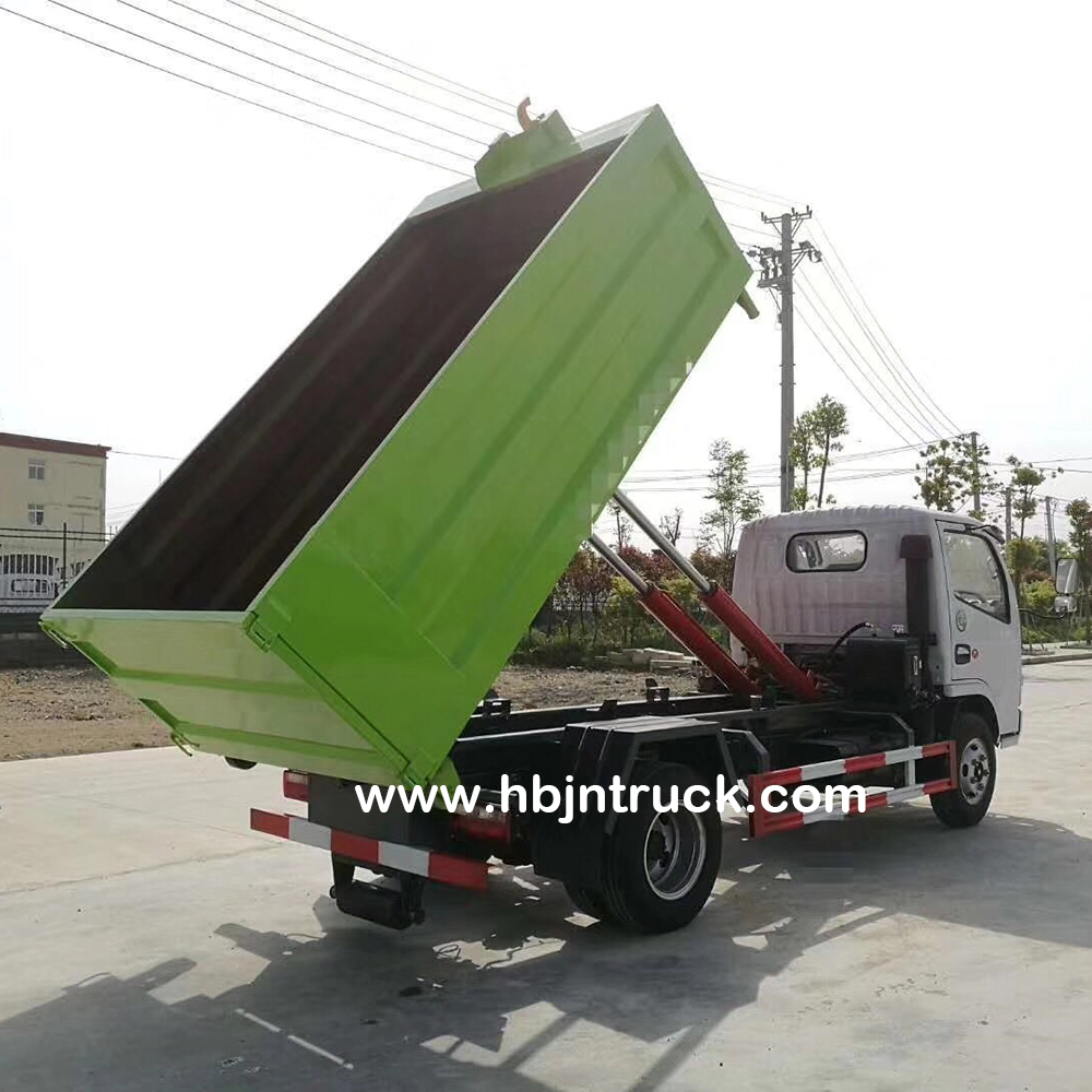 Dfac Hook Lift Garbage Truck