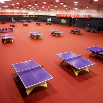 table tennis floor with uv coating/ping-pang ball court