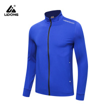 Women's Long-Sleeve Full Zip Polyester Athletic Running Track Jacket