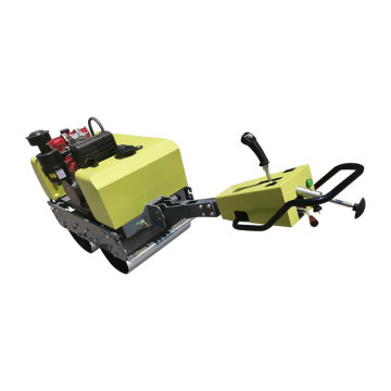 Best price walking type road roller 600KG