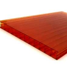 Eco-Friendly Anti UV Colored Polycarbonate Hollow Sheet