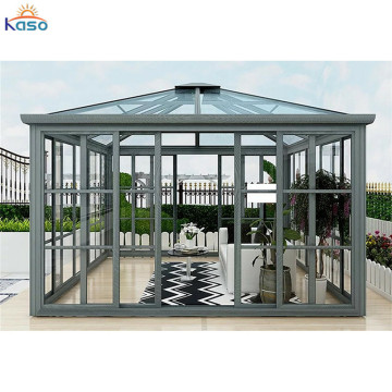 Victorian Aluminium Sunroom Glass House For Pool