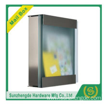 SMB-066SS Promotional Price Cluster City Decorative Steel Mailbox