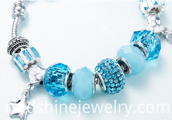 DIY Charm Crystal Bracelet For Women
